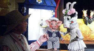Představení: A tale about nutty goat Róza